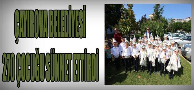 Çayırova Belediyesi 270 Çocuğu Sünnet Ettirdi