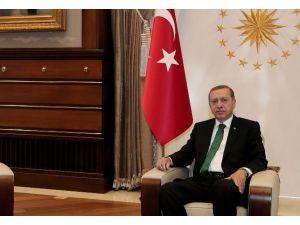 Erdoğan Müsiad Heyetiyle Bir Araya Geldi