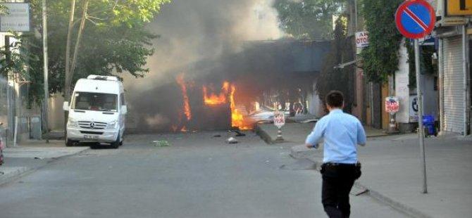 İstanbul'da otobüste patlama!