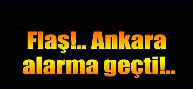 Ankara teyakkuz halinde