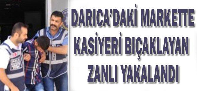 Darıca'daki Markette Kasiyeri Bıçaklayan Zanlı Yakalandı