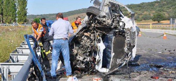 Çorum'da feci kaza: 6 ölü