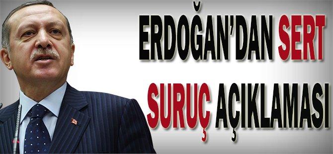 Erdoğan'dan sert Suruç açıklaması