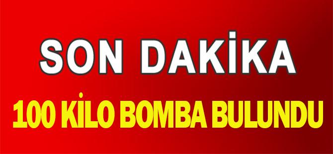 Son Dakika: Tunceli'de 100 kilo bomba