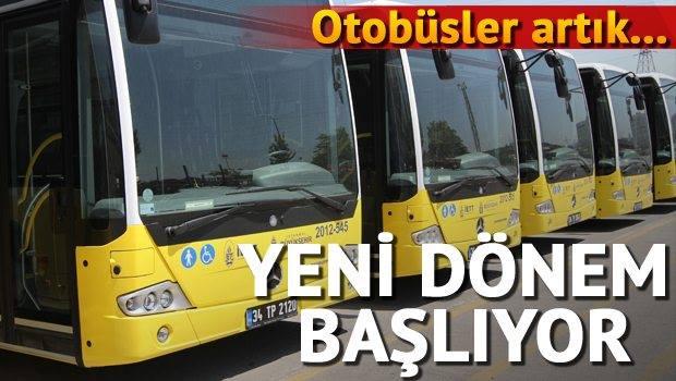 İETT otobüslerinde kara kutu dönemi başlıyor