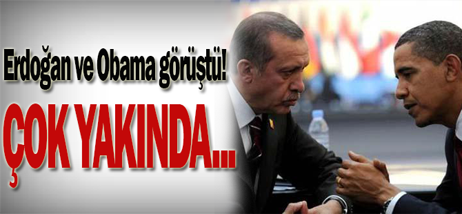Erdoğan ve Obama'dan beklenen İncirlik görüşmesi