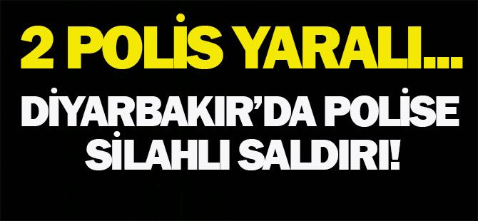Diyarbakır'da polise silahlı saldırı!