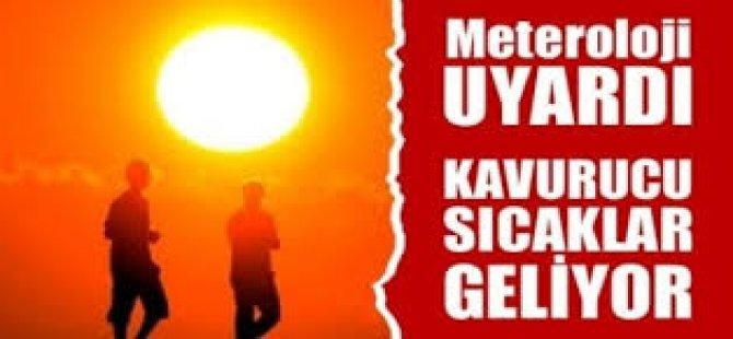 Meteoroloji Uyardı, Kavurucu Sıcaklar Geliyor!