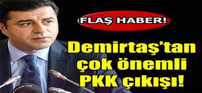 Demirtaş'tan Çok Önemli PKK Çıkışı!