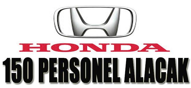 Honda 150 Personel Alacak