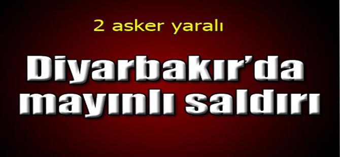 Diyarbakır'da Mayınlı Saldırı!