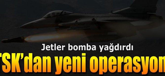TSK'dan Yeni Operasyon