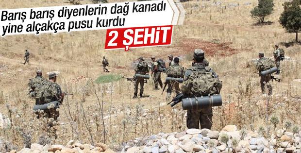 Şırnakta 2 Asker Şehit Düştü