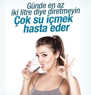Su Tüketmek İçin Kendinizi Zorlamayın