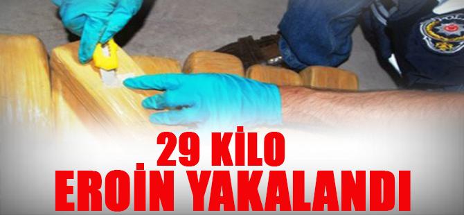 İzmitte 29 Kg Eroin Yakalandı