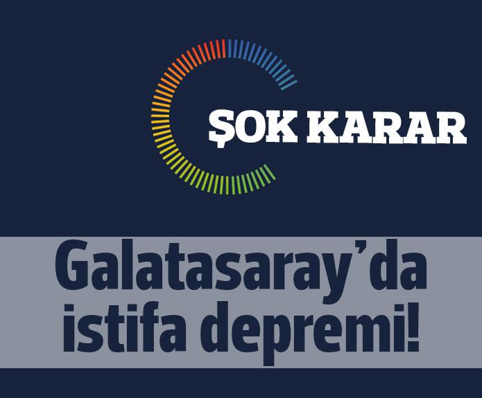 Galatasarayda İstifa Kararı