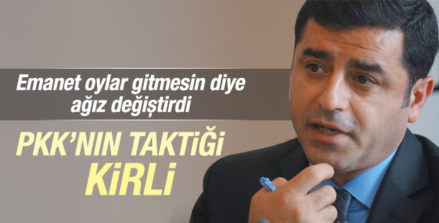 Demirtaş PKK Kirli Mislemeler Yapıyor