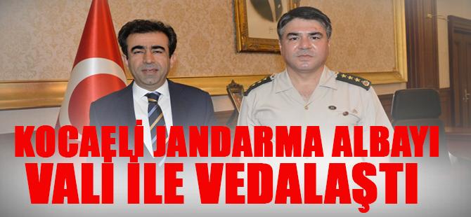 Kocaelİ İl Jandarma Albayı Vali İle Vedalaştı