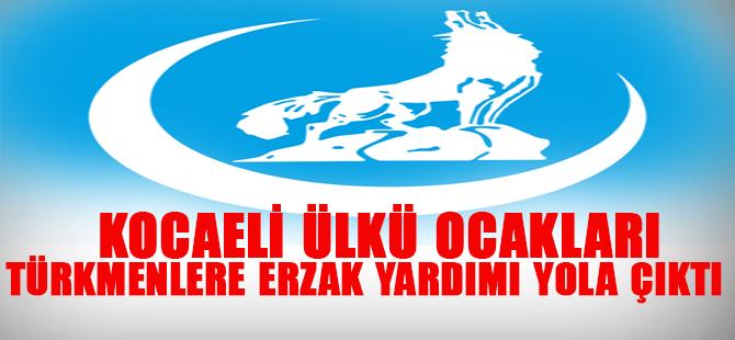 Kocaeli Ülkü Ocaklarından Türkmenlere Yardım
