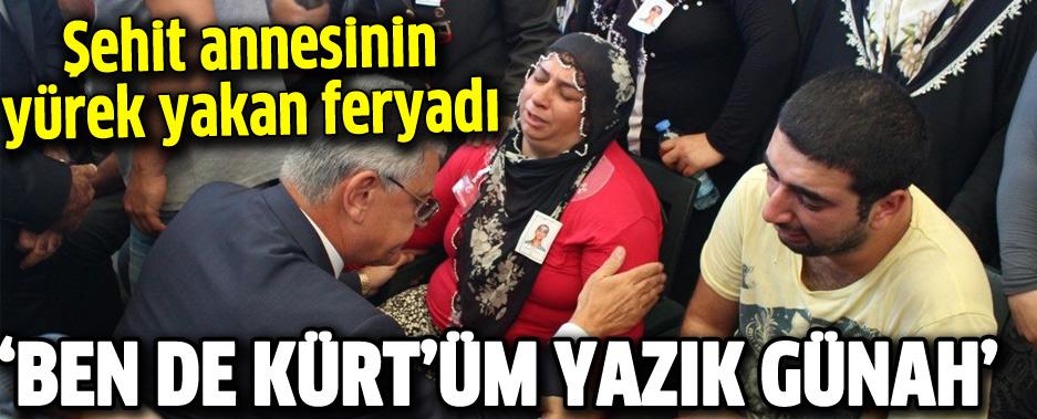 Şehit Annesinin Yürek Yakan Feryadı