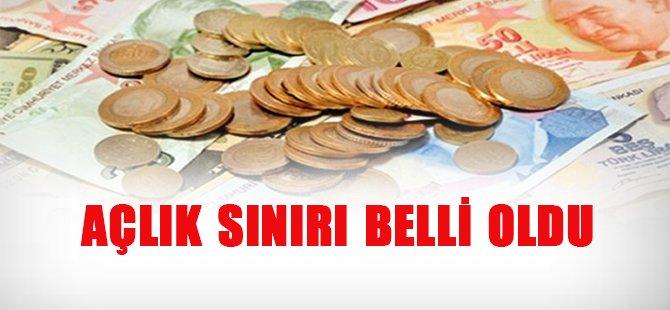 Açlık Sınırı 1371 Lira Oldu