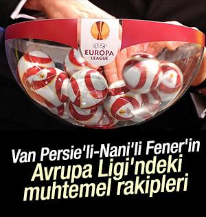 Fenerbahçe Avrupa Ligi Rakipleri Belli Oluyor