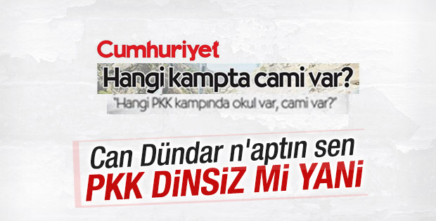 Cumhuriyeti Savunayım Derken PKK'ya ateist dedi