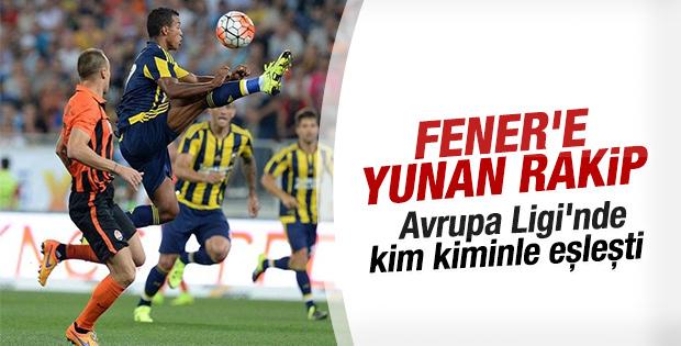 Fenerbahçe Avrupa Ligi Rakipleri Belli Oldu