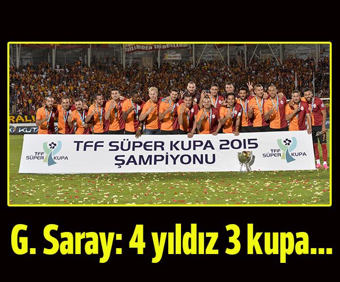 Galatasaray Kupanın Sahibi Oldu