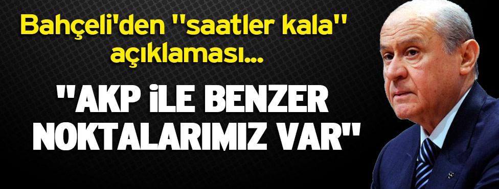 AKP MHP Koalisyonu Kurulabilirmi