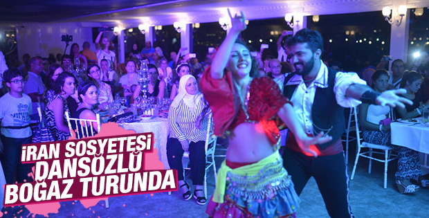 İran Halkı İstanbul'da Eğleniyor