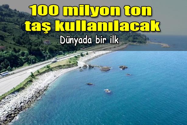 100 Milyon Taş Kullanılıcak Dev Proje