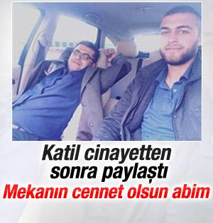 Öldürdü Facebookta Paylaştı