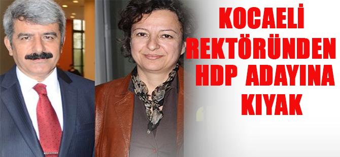 HDP'Lİ Adaya Rektör Kıyağı