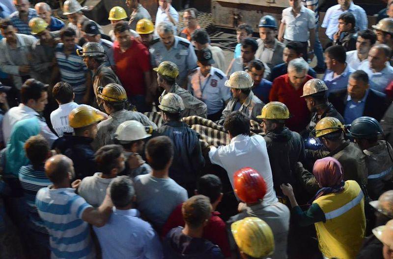 Zonguldakta  Maden Faciası