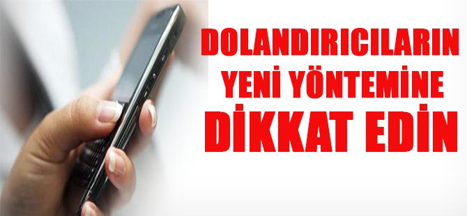 Yeni Telefon Dolandırıcılıgı