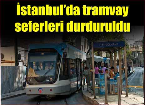 Bomba paniği tramvayda patlak verdi