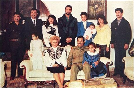 Saddam hüseyinin eşi öldü