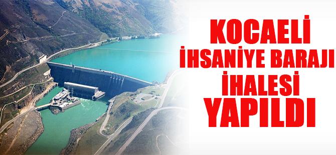 İhsaniye barajı ihalesi yapıldı