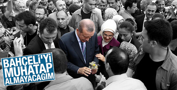 Cumhurbaşkanı Erdoğan  Bahçeliye Yanıt Verdi