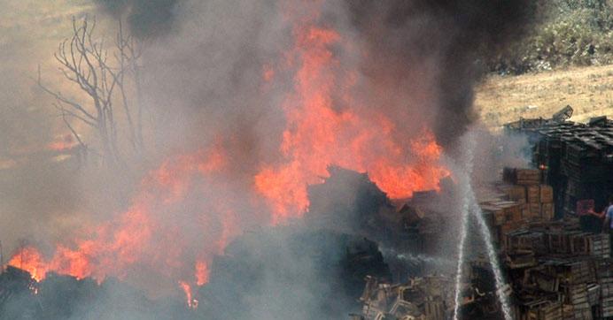 Sultangazide yangın