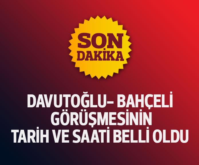 AKP MHP Koalisyon görüşme tarihi belli oldu