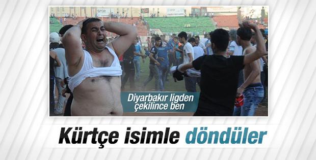 Diyarbakırspor kürtçe isimle liglere döndü
