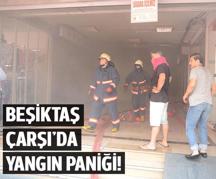 Beşiktaş Çarşıda Yangın Çıktı
