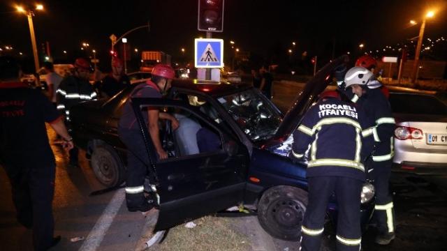Kocaeli'nde trafik kazası