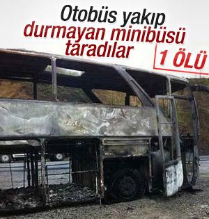 Teröristlerin taradığı minibüs şoförü hayatını kaybetti