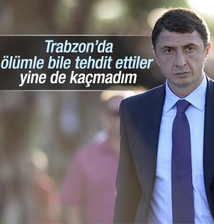 Şota Trabzon da ölümle tehtid edilmiş