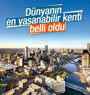 Dünyanın en yaşanabilir kenti