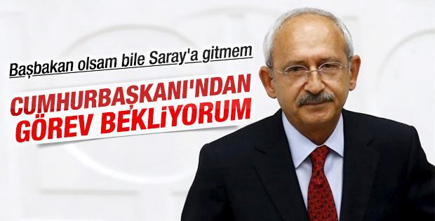 Kılıçdaroğlu: Görev CHP'ye verilsin
