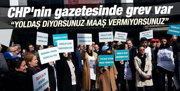Yurt gazetesinde  istifa depremi